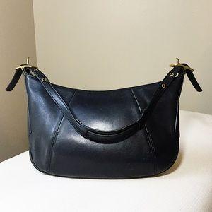COACH Beautiful Vintage Black Leather Shoulder bag